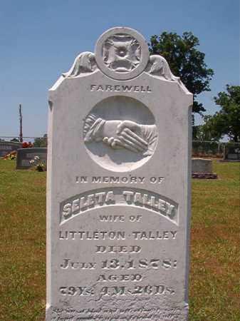 TALLEY, SELETA - Columbia County, Arkansas | SELETA TALLEY - Arkansas Gravestone Photos