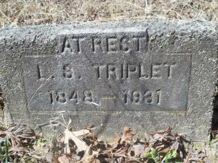 TRIPLET, L S - Columbia County, Arkansas | L S TRIPLET - Arkansas Gravestone Photos