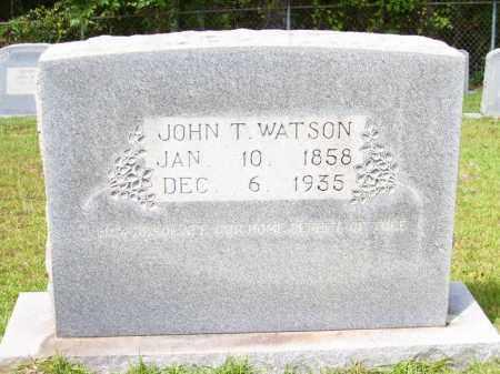 WATSON, JOHN T - Columbia County, Arkansas | JOHN T WATSON - Arkansas Gravestone Photos
