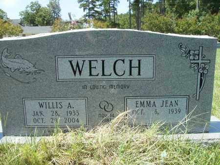 WELCH, WILLIS A - Columbia County, Arkansas   WILLIS A WELCH - Arkansas Gravestone Photos
