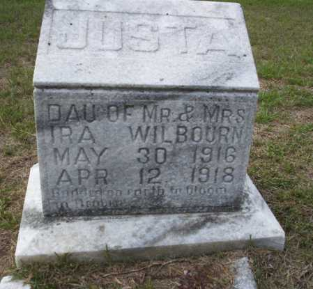 WILBOURN, JUSTA - Columbia County, Arkansas   JUSTA WILBOURN - Arkansas Gravestone Photos