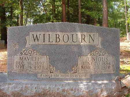 WILBOURN, JUNIOUS - Columbia County, Arkansas   JUNIOUS WILBOURN - Arkansas Gravestone Photos