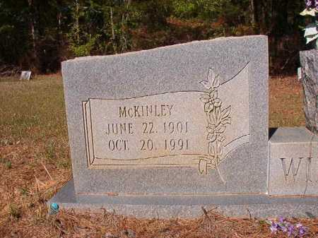 WILBOURN, MCKINLEY - Columbia County, Arkansas   MCKINLEY WILBOURN - Arkansas Gravestone Photos