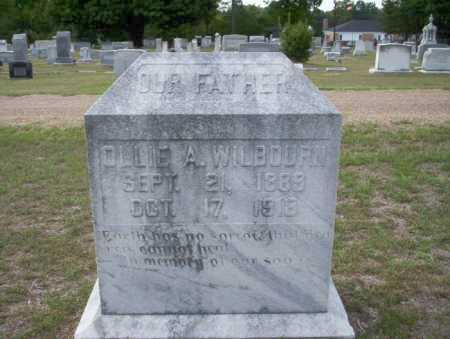 WILBOURN, OLLIE A - Columbia County, Arkansas | OLLIE A WILBOURN - Arkansas Gravestone Photos