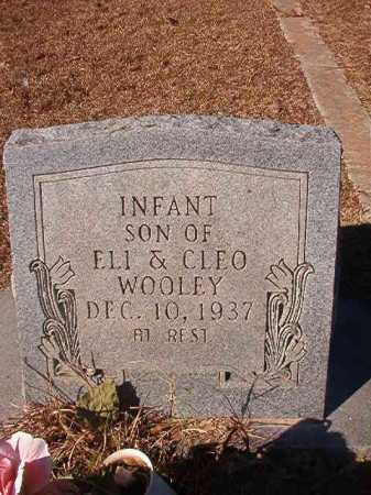 WOOLEY, INFANT - Columbia County, Arkansas   INFANT WOOLEY - Arkansas Gravestone Photos