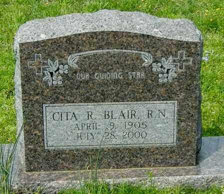 BLAIR, CITA R - Conway County, Arkansas   CITA R BLAIR - Arkansas Gravestone Photos