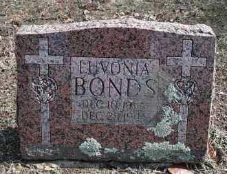 BONDS, LUVONIA - Conway County, Arkansas   LUVONIA BONDS - Arkansas Gravestone Photos