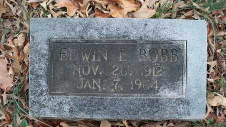 BOBB, EDWIN E - Conway County, Arkansas | EDWIN E BOBB - Arkansas Gravestone Photos