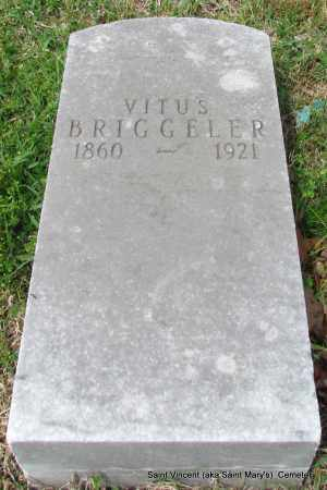 BRIGGELER, VITUS - Conway County, Arkansas   VITUS BRIGGELER - Arkansas Gravestone Photos