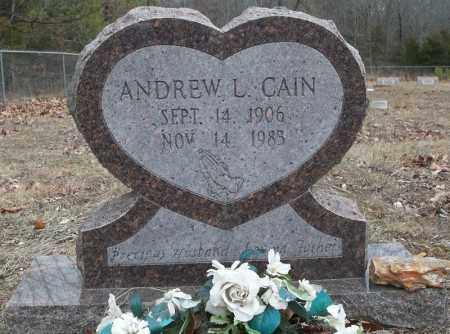 CAIN, ANDREW L - Conway County, Arkansas | ANDREW L CAIN - Arkansas Gravestone Photos