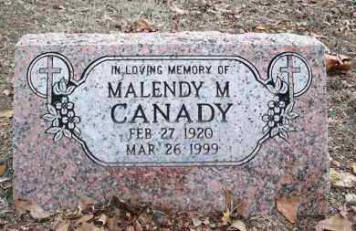 CANADY, MALENDY M - Conway County, Arkansas | MALENDY M CANADY - Arkansas Gravestone Photos
