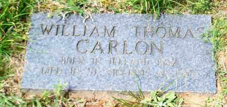 CARLON, WILLIAM THOMAS - Conway County, Arkansas   WILLIAM THOMAS CARLON - Arkansas Gravestone Photos