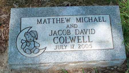 COLWELL, MATTHEW MICHAEL - Conway County, Arkansas   MATTHEW MICHAEL COLWELL - Arkansas Gravestone Photos