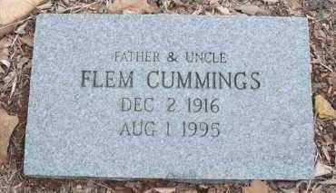 CUMMINGS, FLEM - Conway County, Arkansas | FLEM CUMMINGS - Arkansas Gravestone Photos