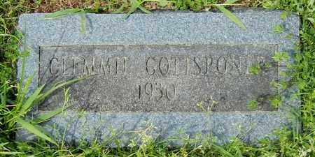 GOTTSPONER, CLEMMIE - Conway County, Arkansas | CLEMMIE GOTTSPONER - Arkansas Gravestone Photos