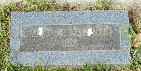 GOTTSPONER, FRED - Conway County, Arkansas | FRED GOTTSPONER - Arkansas Gravestone Photos