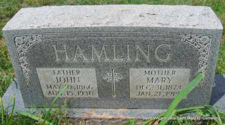 HAMLING, JOHN - Conway County, Arkansas | JOHN HAMLING - Arkansas Gravestone Photos