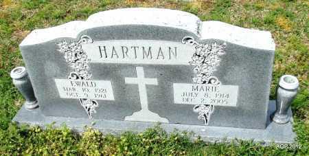HARTMAN, EWALD - Conway County, Arkansas   EWALD HARTMAN - Arkansas Gravestone Photos