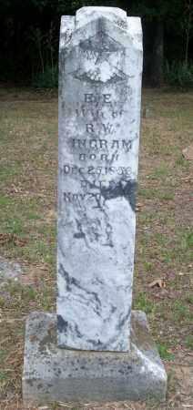 BOENER INGRAM, ELLEN E - Conway County, Arkansas | ELLEN E BOENER INGRAM - Arkansas Gravestone Photos
