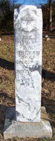 INGRAM, E E - Conway County, Arkansas | E E INGRAM - Arkansas Gravestone Photos