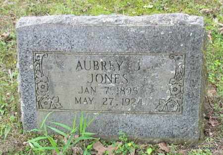 JONES, AUBREY J - Conway County, Arkansas   AUBREY J JONES - Arkansas Gravestone Photos