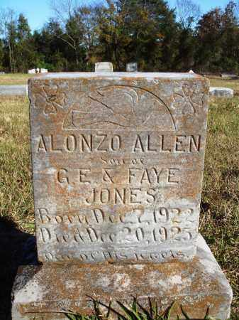 JONES, ALONZO ALLEN - Conway County, Arkansas | ALONZO ALLEN JONES - Arkansas Gravestone Photos