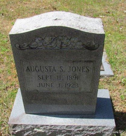 JONES, AUGUSTA S - Conway County, Arkansas | AUGUSTA S JONES - Arkansas Gravestone Photos