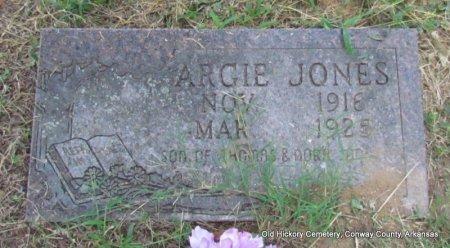 JONES, ARGIE - Conway County, Arkansas | ARGIE JONES - Arkansas Gravestone Photos