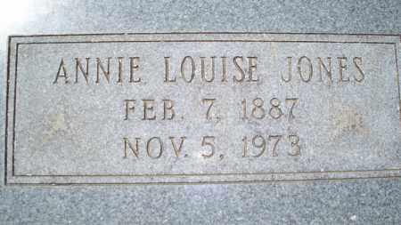 JONES, ANNIE LOUISE - Conway County, Arkansas | ANNIE LOUISE JONES - Arkansas Gravestone Photos