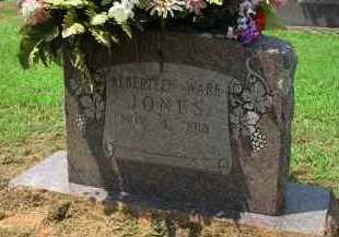 JONES, ALBERTEEN - Conway County, Arkansas   ALBERTEEN JONES - Arkansas Gravestone Photos