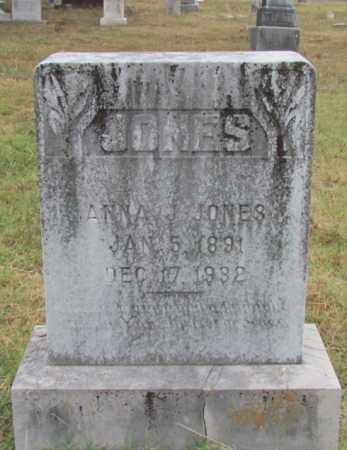 JONES, ANNA J - Conway County, Arkansas | ANNA J JONES - Arkansas Gravestone Photos
