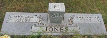 JONES, AFTON CLYDE - Conway County, Arkansas | AFTON CLYDE JONES - Arkansas Gravestone Photos