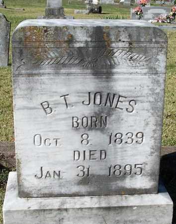 JONES, B T - Conway County, Arkansas | B T JONES - Arkansas Gravestone Photos