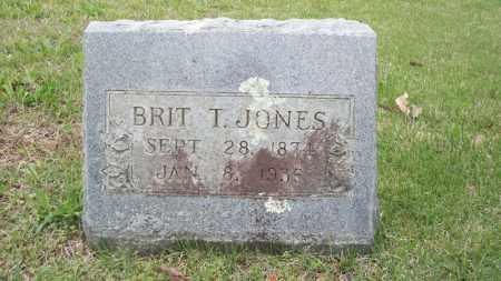 "JONES, BRITTON T ""BRIT"" - Conway County, Arkansas   BRITTON T ""BRIT"" JONES - Arkansas Gravestone Photos"