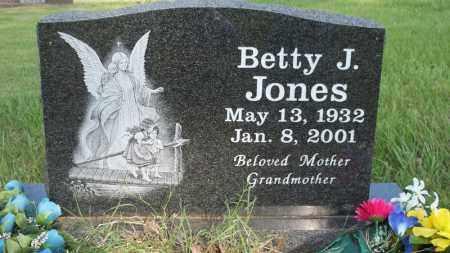 JONES, BETTY J - Conway County, Arkansas | BETTY J JONES - Arkansas Gravestone Photos