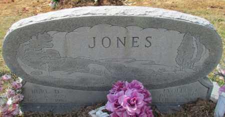 JONES, BURL D - Conway County, Arkansas | BURL D JONES - Arkansas Gravestone Photos