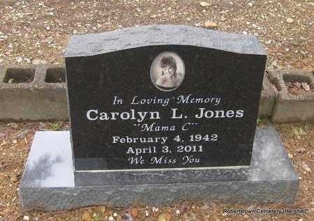 JONES, CAROLYN L - Conway County, Arkansas | CAROLYN L JONES - Arkansas Gravestone Photos