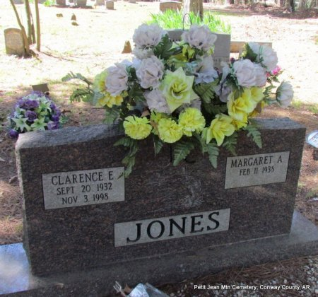 JONES, CLARENCE E - Conway County, Arkansas | CLARENCE E JONES - Arkansas Gravestone Photos