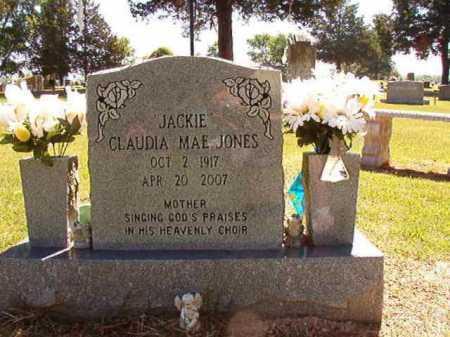 JONES, CLAUDIA MAE - Conway County, Arkansas | CLAUDIA MAE JONES - Arkansas Gravestone Photos