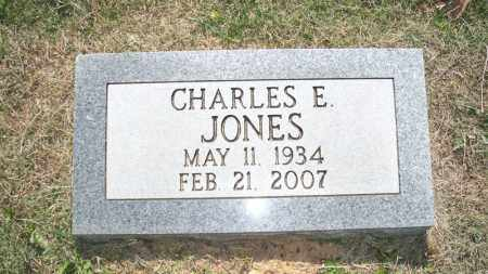 JONES, CHARLES E - Conway County, Arkansas | CHARLES E JONES - Arkansas Gravestone Photos