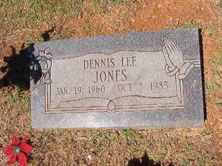 JONES, DENNIS LEE - Conway County, Arkansas | DENNIS LEE JONES - Arkansas Gravestone Photos