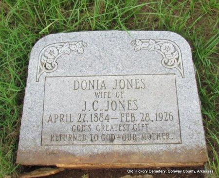 JONES, DONIA - Conway County, Arkansas | DONIA JONES - Arkansas Gravestone Photos
