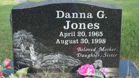 JONES, DANNA G - Conway County, Arkansas | DANNA G JONES - Arkansas Gravestone Photos