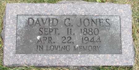 JONES, DAVID G - Conway County, Arkansas | DAVID G JONES - Arkansas Gravestone Photos