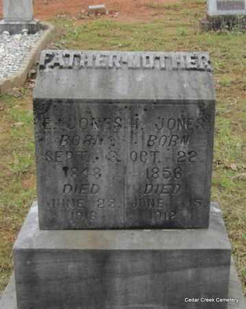 JONES, H - Conway County, Arkansas | H JONES - Arkansas Gravestone Photos