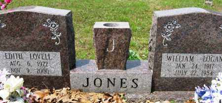 JONES, EDITH - Conway County, Arkansas | EDITH JONES - Arkansas Gravestone Photos