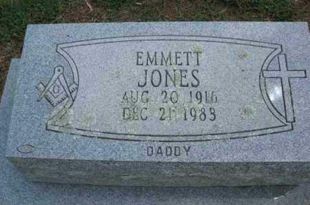 JONES, EMMETT - Conway County, Arkansas | EMMETT JONES - Arkansas Gravestone Photos