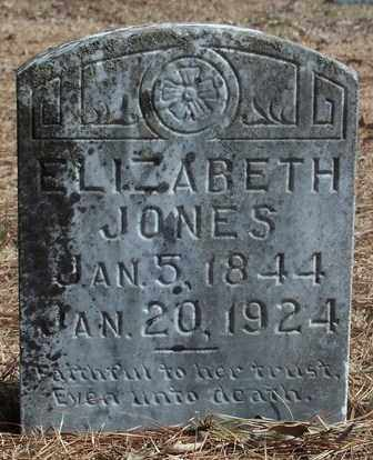 JONES, ELIZABETH - Conway County, Arkansas | ELIZABETH JONES - Arkansas Gravestone Photos