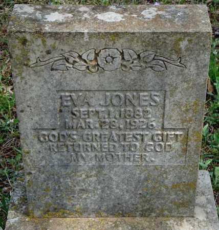 JONES, EVA - Conway County, Arkansas | EVA JONES - Arkansas Gravestone Photos