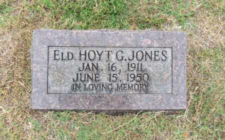 JONES, HOYT G. (ELD.) - Conway County, Arkansas | HOYT G. (ELD.) JONES - Arkansas Gravestone Photos